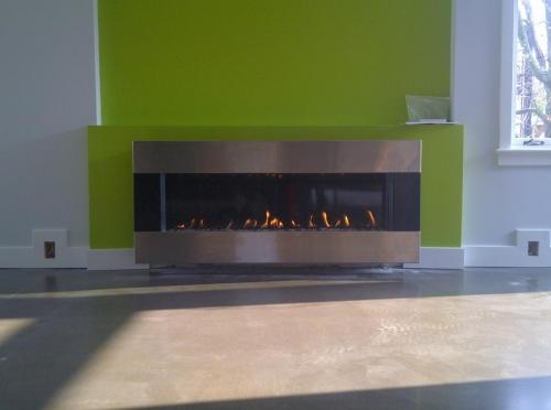 modern  fireplace contractor